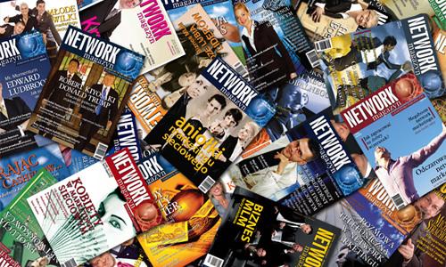 Okładki Network Magazyn