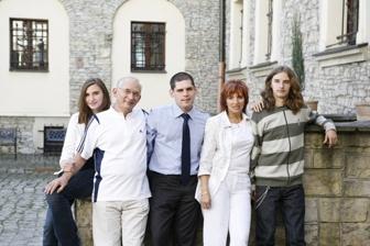 Rodzina Horodeckich w pełnej krasie