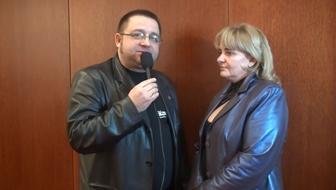 Maciej Maciejewski i Aleksandra Błotko z K-Link Poland