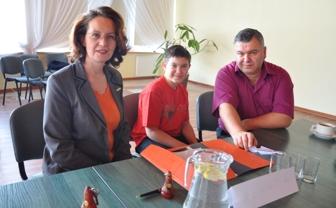 Renata, Michał i Piotr Zarzyccy