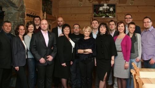 Ekipa VI Spotkania Klubu TOP Liderów MLM