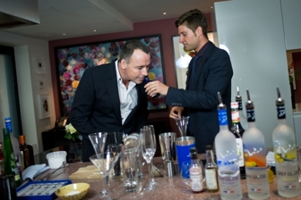 David Furnish and Joe McCanta 2011