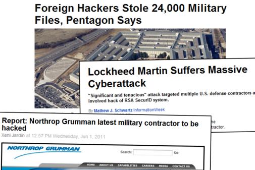 Prasa o atakach na Pentagon