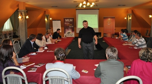 Jedno ze szkoleń Instytutu Edukacji MLM