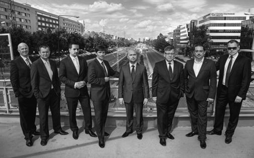 Ekipa najlepszych współpracowników EFG