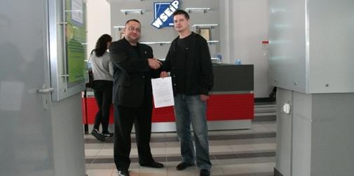 Maciej Maciejewski i Michał Barański