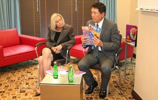 Kim & Robert Kiyosaki