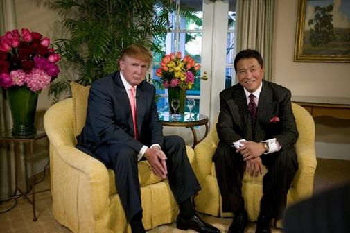 Robert Kiyosaki & Donald Trump