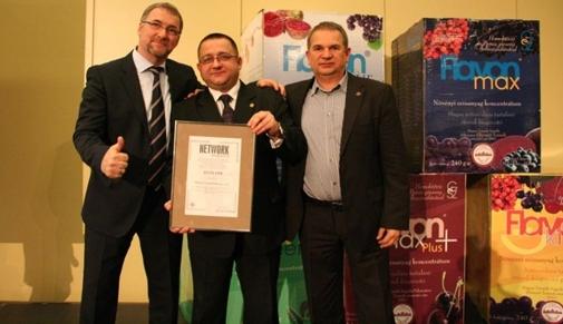 Certyfikat Kompetencji i Rzetelności dla Flavon Group Polska