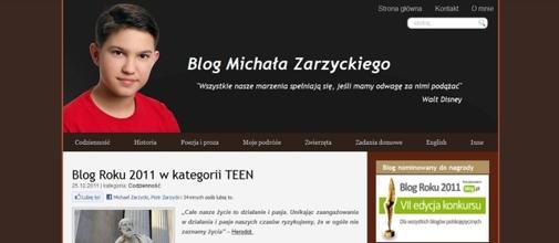 Blog Michała Zarzyckiego