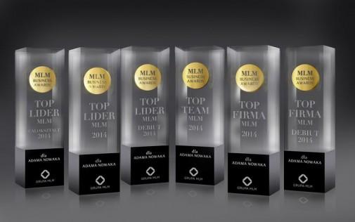 Statuetki nagrody w konkursie MBA