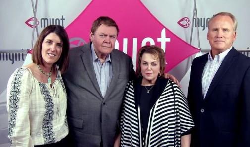 Od lewej stoją: Katty Holt Larsen, Randy Ray, Wendy Lewis, Paul Muehlmann, źródło: Mynth.wistia.com