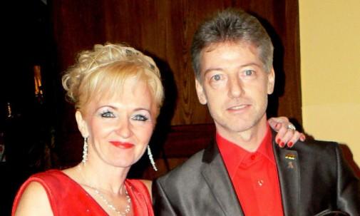 Jiři Steiner z żoną