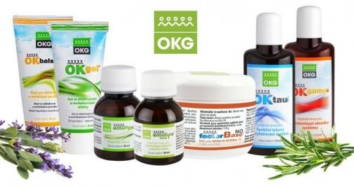 Produkty dystrybuowane przez firmę OKG